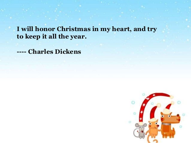 charles dickens 4 - Christmas Quotes For Cards