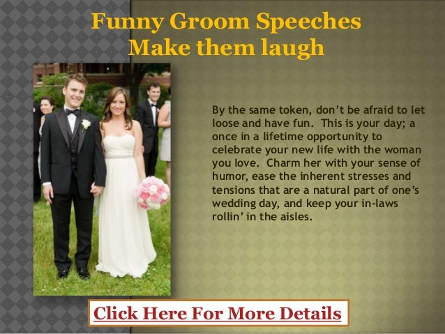 humorous wedding speech by the groom The groom quotes homer simpson in his wedding speech.