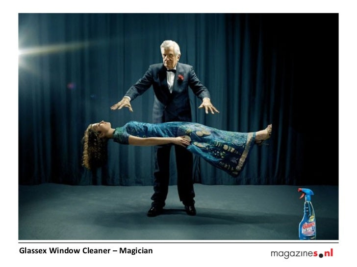 Glassex Window Cleaner – Magician
