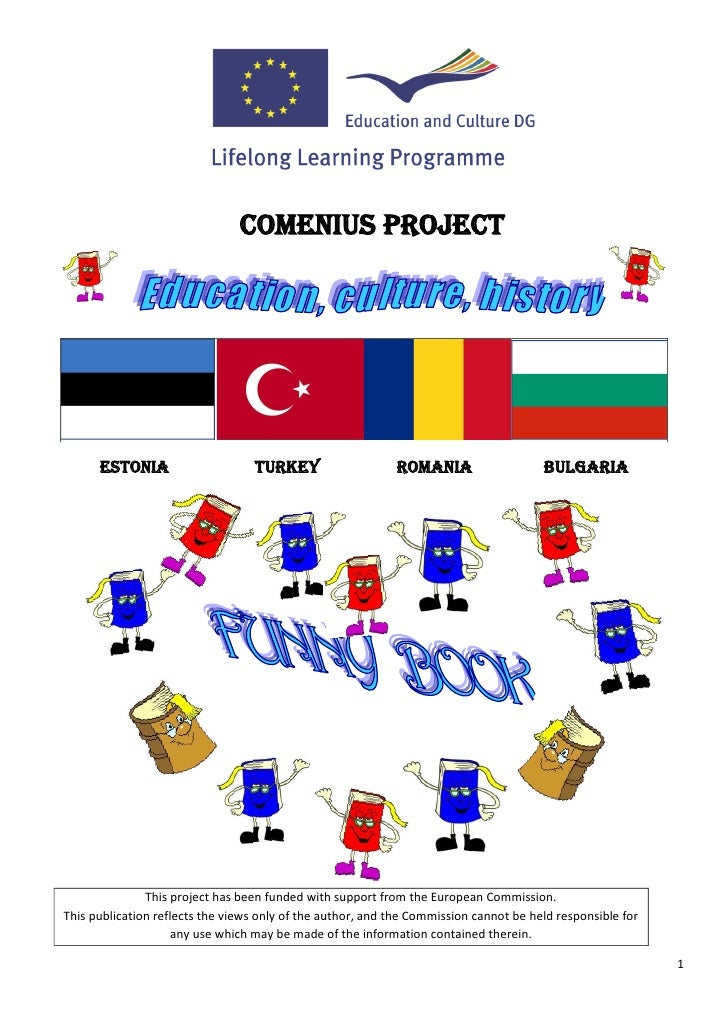 COMENIUS PROJECT      ESTONIA                     TURKEY                    ROMANIA                    BULGARIA           ...