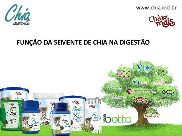 www.chia.ind.brwww.chia.ind.brFUNÇÃO DA SEMENTE DE CHIA NA DIGESTÃO