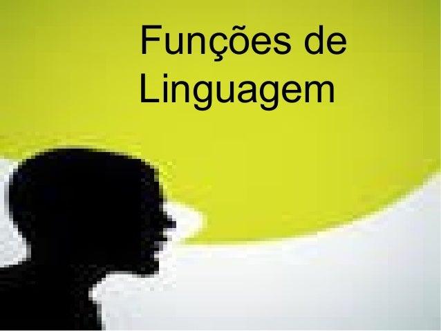Funções de Linguagem