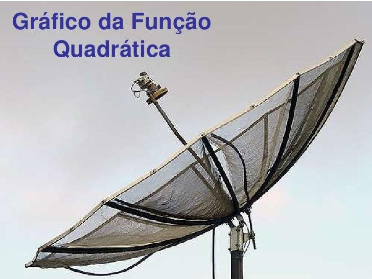 Gráfico da Função Quadrática<br />