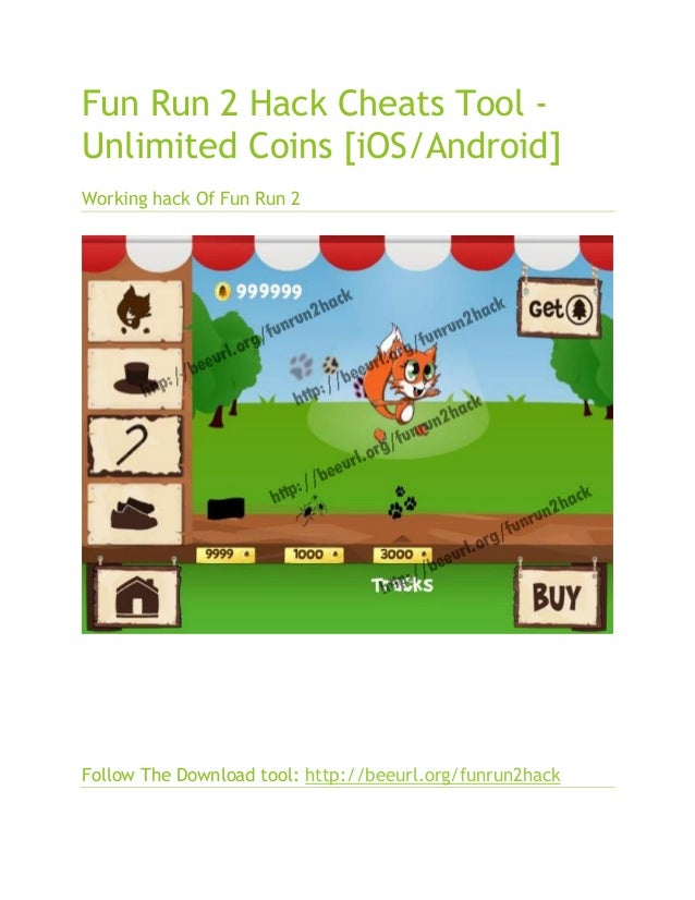 fun run 2 hack cheats tool unlimited coins ios android
