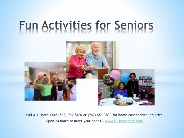 Call A-1 Home Care (562) 929-8400 or (949) 650-3800 for home care service inquiries Open 24 hours to meet your needs • www...