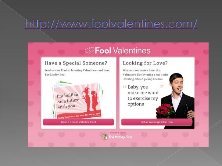 Fun Valentine's Day  Campaign From The Motley Fool