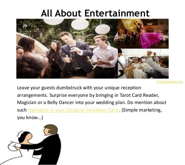 Top 10 fun wedding reception ideas fun wedding ideas 123weddingcards 2 junglespirit Choice Image