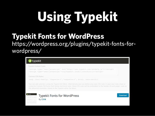 Fun With Fonts: Using The Right Fonts For Your WordPress Website