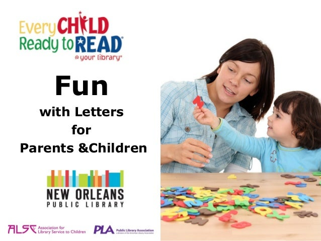 Fun  with Letters       forParents &Children