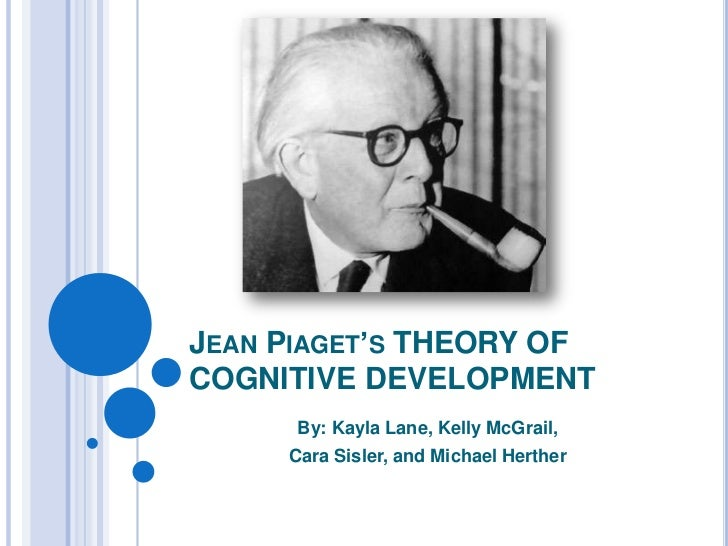 JEAN PIAGET'S THEORY OFCOGNITIVE DEVELOPMENT      By: Kayla Lane, Kelly McGrail,     Cara Sisler, and Michael Herther