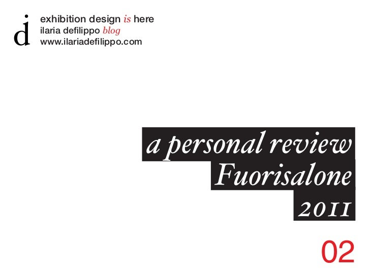 exhibition design is hereilaria defilippo blogwww.ilariadefilippo.com                          a personal review          ...