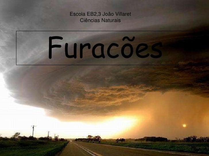 Escola EB2,3 João Villaret      Ciências Naturais     Furacões