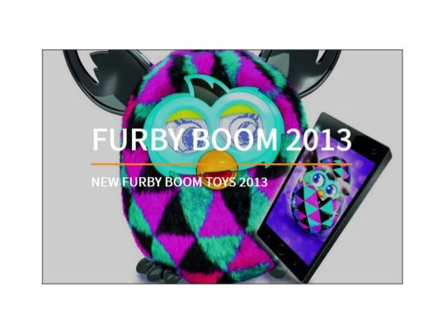 Keep Going and Let's Look at Each New Furby Boom Character for 2013