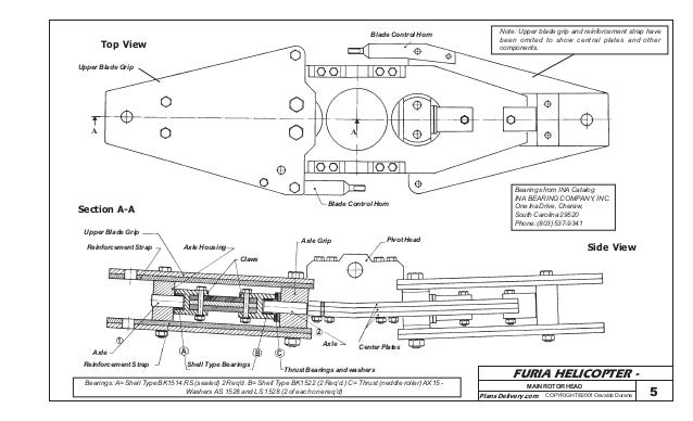 Furia Ultralight Helicopter Plans 2