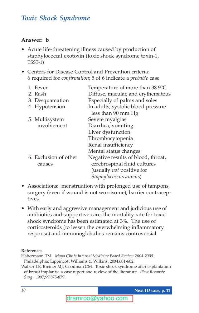 Mayo Clinic Images in Internal Medicine: Self-Assessment for