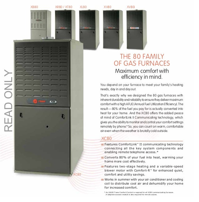 thornton heating services inc trane 80 gas furnaces rh slideshare net Furnace Air Filters Furnace Air Filters