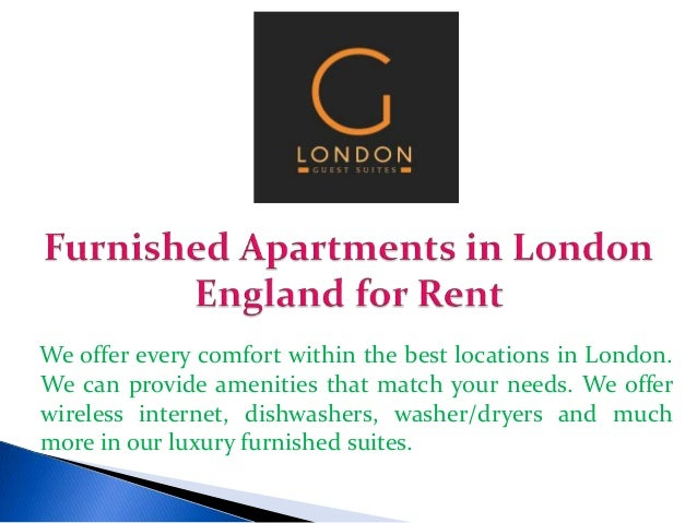 Apartments For Rent London England Furnished