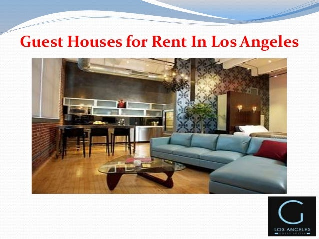 Furnished houses for rent in los angeles