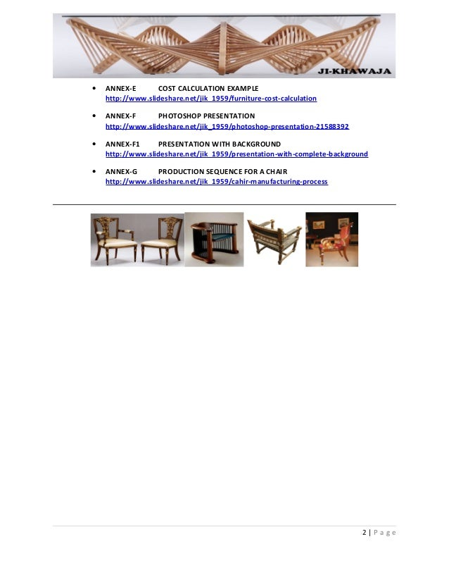 cost calculation   furniture cost calculation