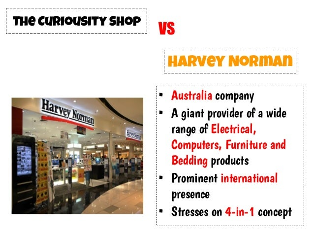 pricing strategy of harvey norman Citi estimates that for every 1 per cent move in house prices, harvey norman's  sales, earnings and share price increase by 4 per cent and nick.