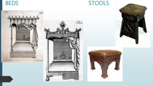 BEDS STOOLS