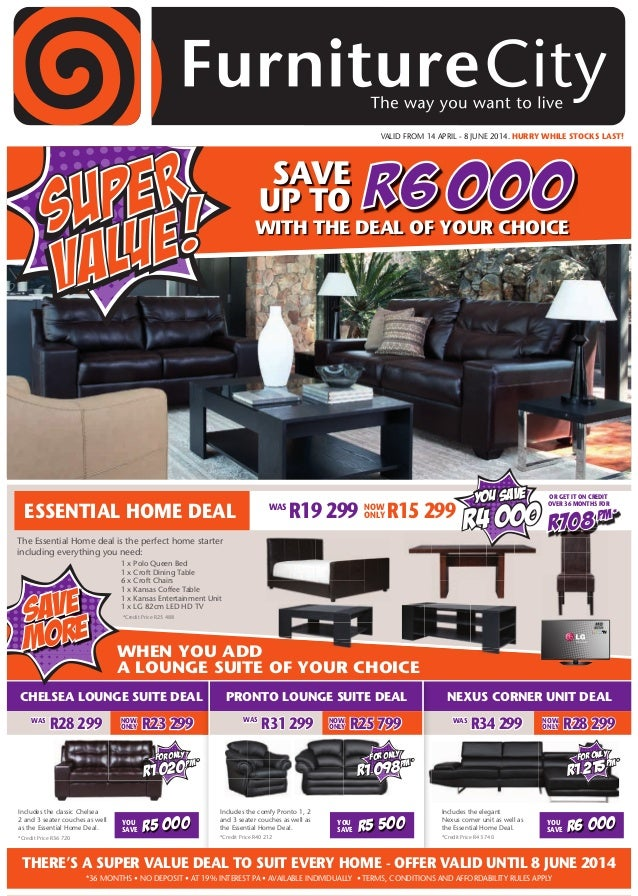Furniture city super value catalogue Home furniture catalogue south africa