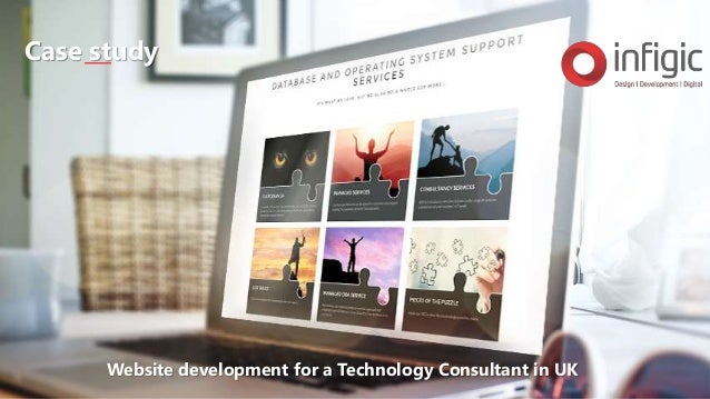 Website development for a Technology Consultant in UK Case study