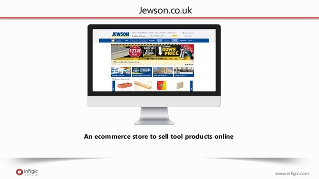 www.infigic.com An ecommerce store to sell tool products online Jewson.co.uk