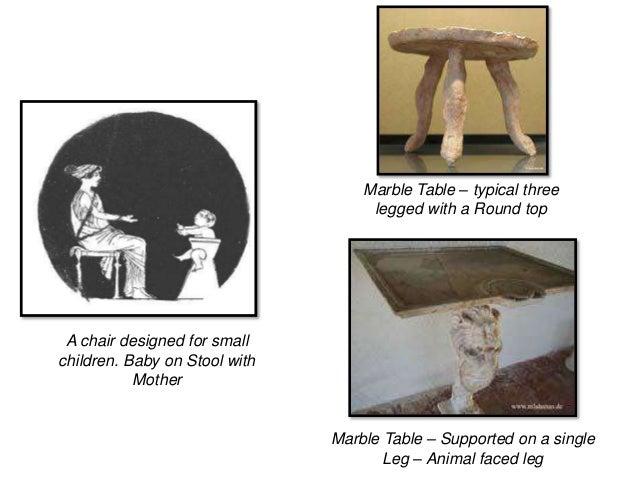 Furniture During Greek Period
