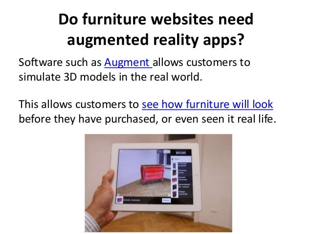 Online Challenges And Opportunities For The Furniture Industry