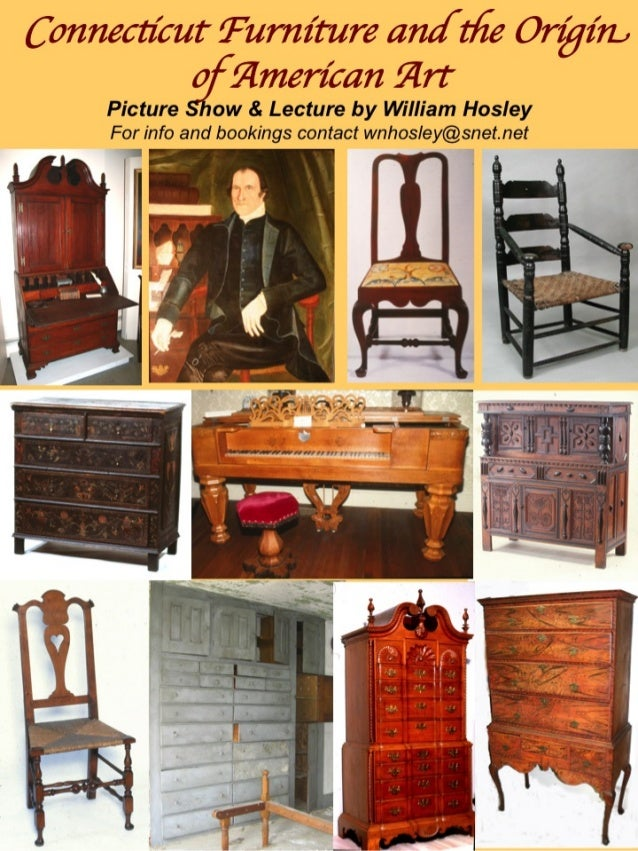Furniture History & Antiques - Programs by William Hosley