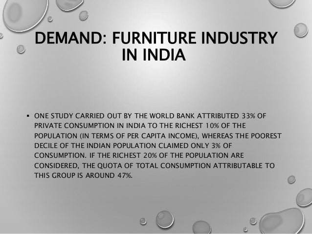 Furniture Industry In India