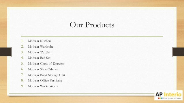 Furniture Manufacturers In Pune