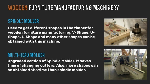 Furniture Manufacturing Process