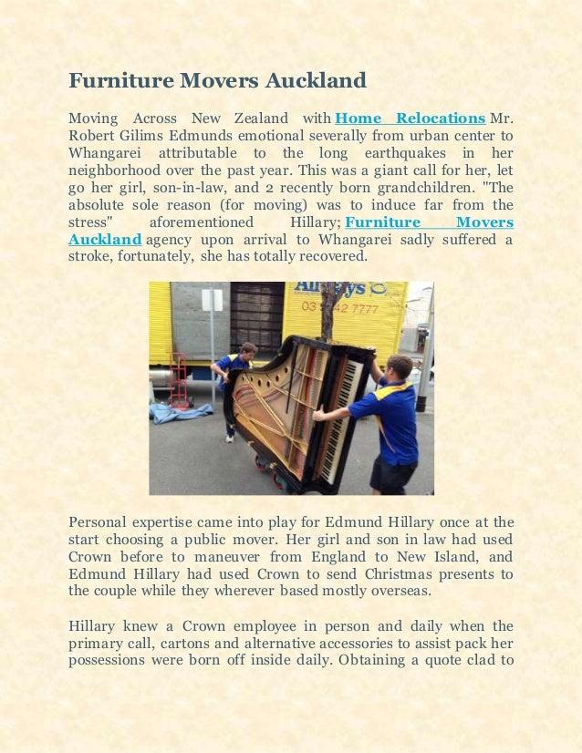 Terrific Furniture Movers Auckland Download Free Architecture Designs Scobabritishbridgeorg
