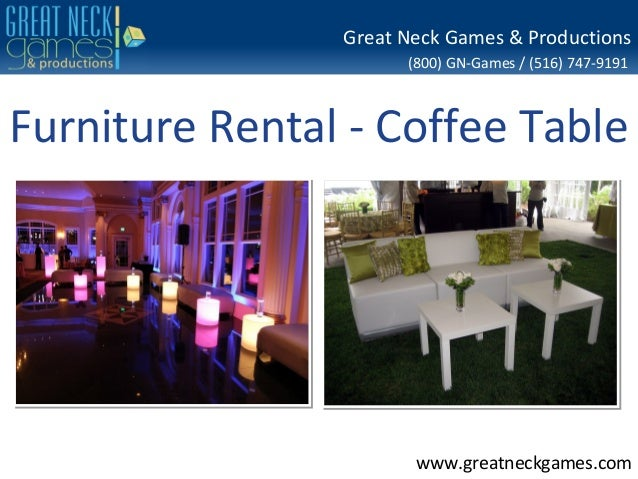 Furniture rental coffee table for Rent one furniture rental