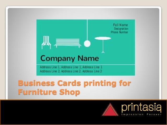 Furniture shop visiting card samples printasia print online furniture shop visiting cards 4 colourmoves