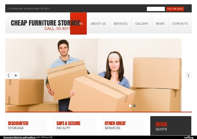 DISCOUNTED STORAGE SAFE&SECURE FACILITY OTHERGREAT SERVICES QUICK QUOTE -10 Arvona Ave, Sunshine North, VIC 3021 CALL ME B...