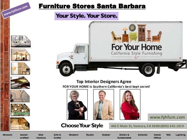 Furniture Stores Santa Barbara