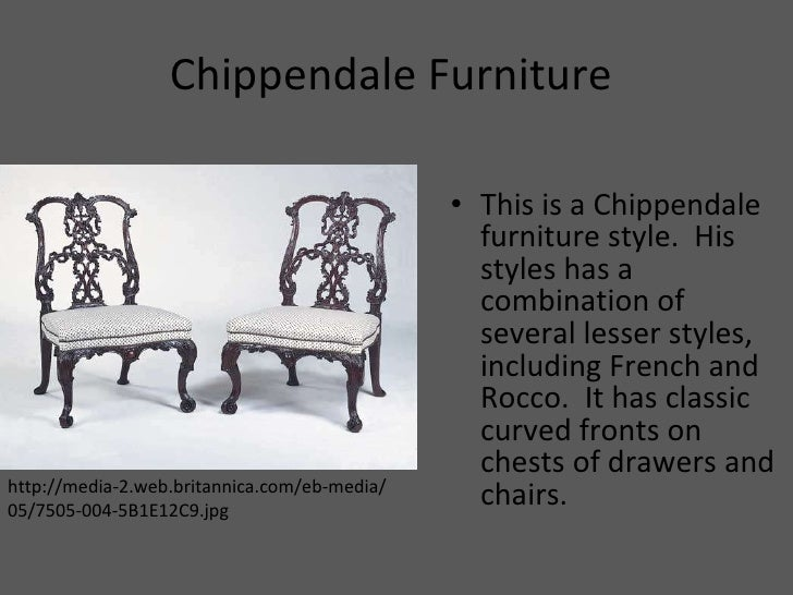 Chippendale Furniture   Chippendale Chairs Wiki