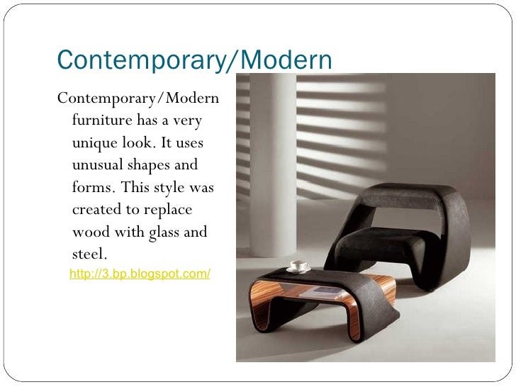 Furniture Styles Power Point 2