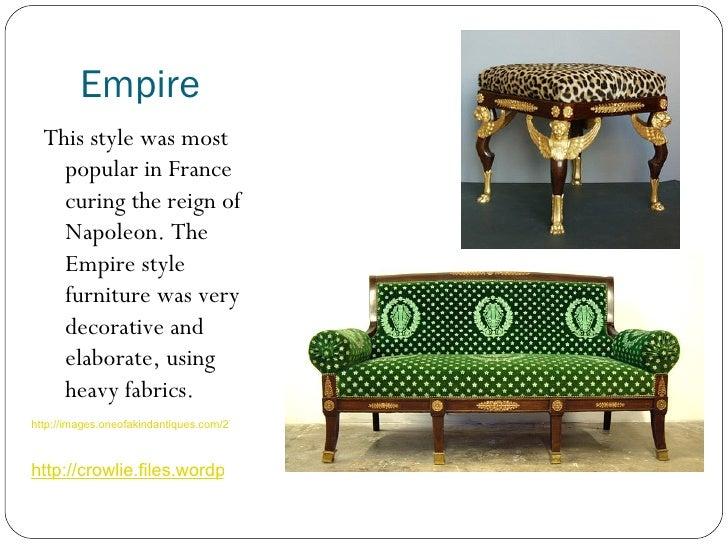most popular furniture styles. 8 empire u003culu003eu003cliu003ethis style was most popular furniture styles r