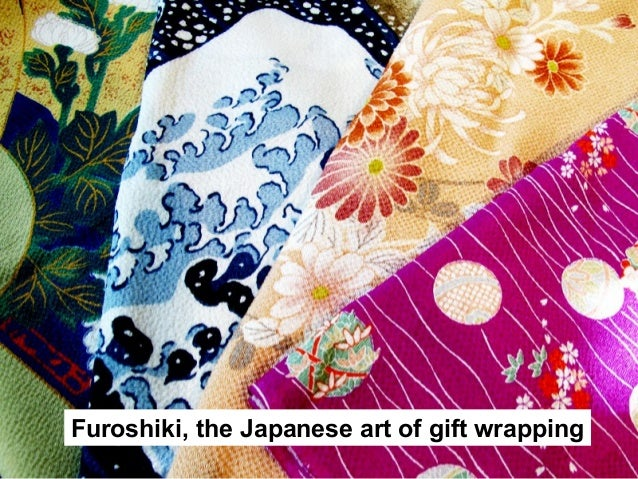 Furoshiki, the Japanese art of gift wrapping