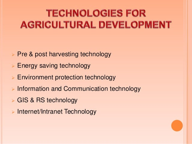  In agriculture, time & production are so important; you have to plant in time, harvest in time & deliver to stores in ti...