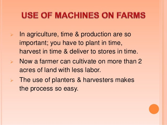 It helps in making products available on markets in time from the farm.  With modern transportation, consumers can have...