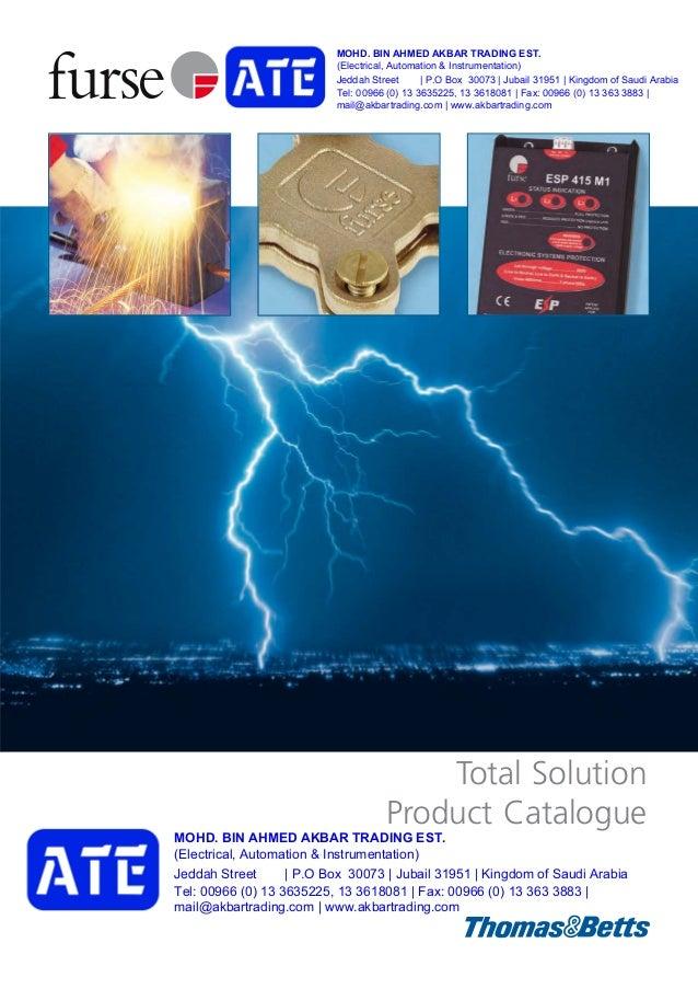 Furse earthing-and-lightning-protection-product-catalogue SAUDI ARABI…