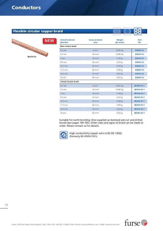 Furse lightning protection catalogue
