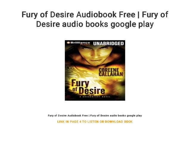 Fury of Desire Audiobook Free   Fury of Desire audio books google play