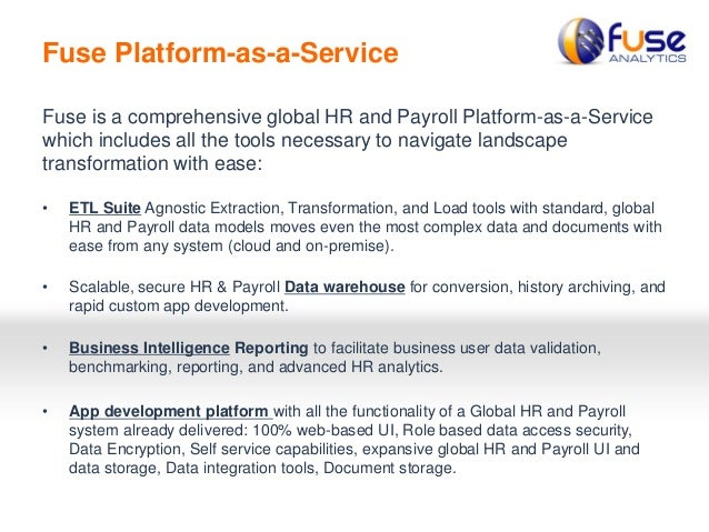 Fuse Analytics - HR & Payroll Cloud Transformation Pitfalls
