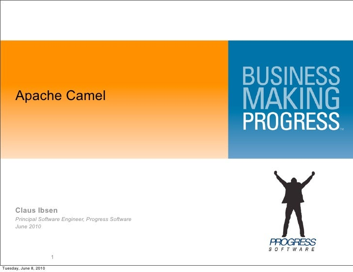 Apache Camel           Claus Ibsen       Principal Software Engineer, Progress Software       June 2010                   ...